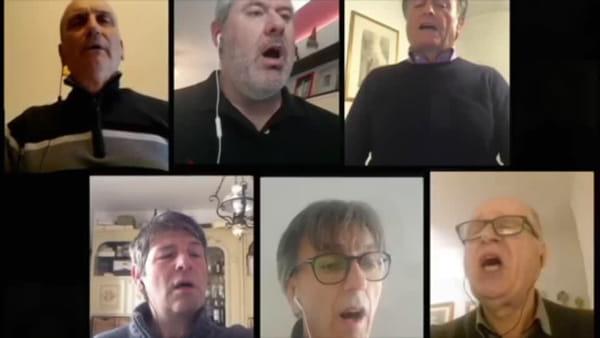Il gruppo polifonico Coradini si esibisce online: l'Ave Maria per la Madonna del Conforto