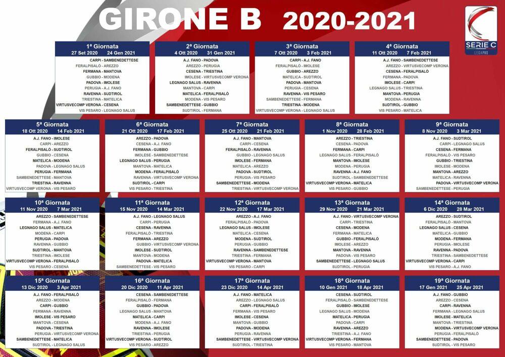 Lega Pro, il calendario dell'Arezzo | 2020/2021
