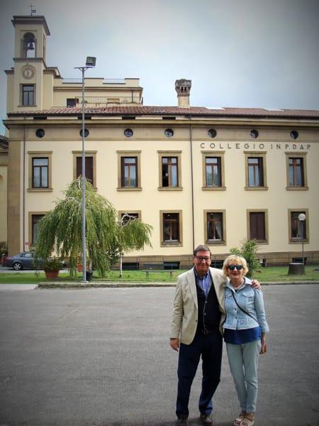 Roberto Cova e Augusta Malfassi